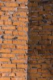 Metselwerkachtergrond Stock Foto
