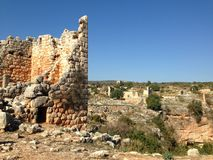 Mersin ruins in Turkey Stock Photography