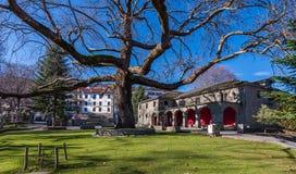 Metsovo Agia Paraskevi kościół Zdjęcia Royalty Free