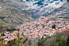 Metsovo Dorf Lizenzfreies Stockbild