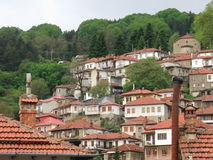Metsovo town in Greece Stock Images