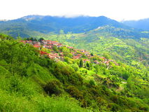 Metsovo town Stock Photos