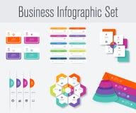 Metta con il infographics Immagine Stock