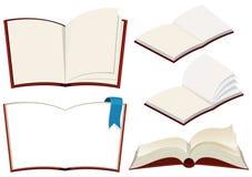 Metta del libro su fondo bianco illustrazione vettoriale