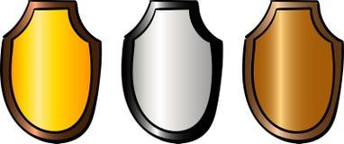 Metta del trofeo di sport Ricompensa e trofeo illustrazione vettoriale
