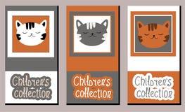 Metta delle etichette di arte di vettore sull'abbigliamento dei bambini royalty illustrazione gratis