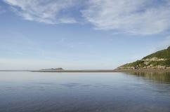 Metta a fuoco sulla spiaggia, il bokeh, il oceane, isola Fotografia Stock Libera da Diritti