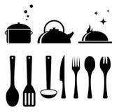 insieme degli strumenti della cucina e del cuoco unico ... - Strumenti Cucina