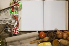 Metta i prodotti del libro aperto e di potere Immagini Stock
