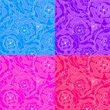 Metta l'illustrazione di progettazione di Mandala Flower illustrazione di stock