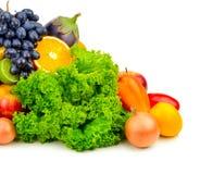 Metta la frutta e le verdure Immagini Stock Libere da Diritti