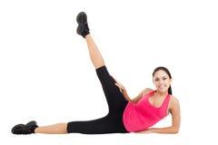 Donna di forma fisica di sport Fotografie Stock