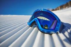 Mette in mostra gli occhiali di protezione Fotografie Stock Libere da Diritti