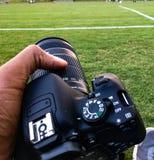 Mette in mostra il fotografo Fotografia Stock Libera da Diritti