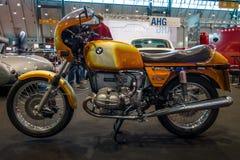 Mette in mostra il motociclo BMW R90S, 1976 Immagine Stock