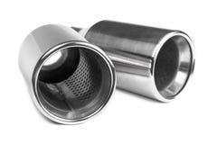 Mette in mostra il tubo di scarico Fotografia Stock