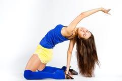 Mette in mostra la ragazza di forma fisica Immagine Stock Libera da Diritti