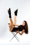 Mette in mostra la ragazza di forma fisica Immagini Stock Libere da Diritti