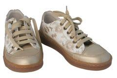 Mette in mostra le calzature Immagine Stock