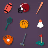 Mette in mostra le icone Royalty Illustrazione gratis