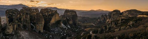 Metteora en Grèce Photos libres de droits