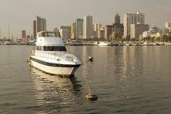 Mettere in bacino-barca Immagine Stock Libera da Diritti