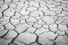 Mettez à la terre la fente moulue, manque de terre de l'eau photographie stock
