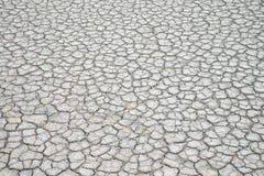 Mettez à la terre la fente moulue, manque de terre de l'eau photo stock