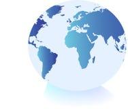 Mettez à la terre le globe illustration libre de droits