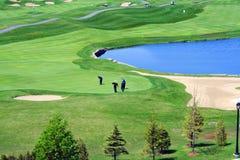 mettez en place le golf Images stock