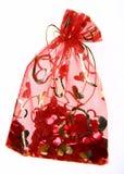 Mettez en sac avec des confettis Images stock