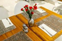 Mettez les tables Photo stock