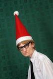 mettez-moi aiment Noël de t Photographie stock