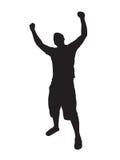 Mettez vos mains vers le haut Images libres de droits