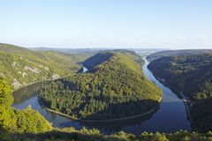 Mettlach (Saarland, Germany) - Saar Loop Stock Photos