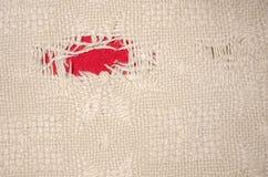 Mettress z czerwoną łatą Obraz Stock