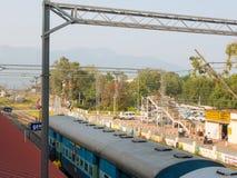 Mettupalayam,喀拉拉,印度的火车站 库存照片
