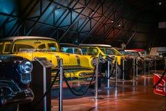 METU Science and Technology Museum. Retro autos. Stock Photo