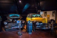 METU Science and Technology Museum. Retro autos. Stock Photos