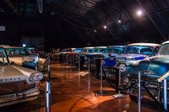 METU Science and Technology Museum. Retro autos. Stock Image