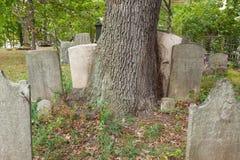 Metuchen Koloniale Begraafplaats Stock Fotografie