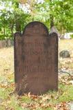 Metuchen kolonisty cmentarz Zdjęcie Stock