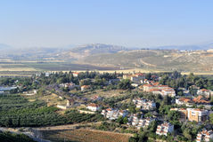 Metula village landscape, Israel Stock Photos