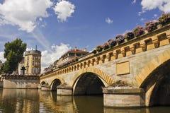 Metz-Brücke Lizenzfreie Stockfotos