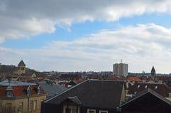 Metz en Francia Imagen de archivo libre de regalías
