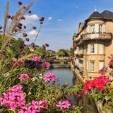 Metz France Photo libre de droits