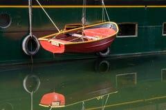METZ, FRANCE/EUROPA - 24 DE SETEMBRO: Proposta da barca em Metz Lorrai fotografia de stock royalty free