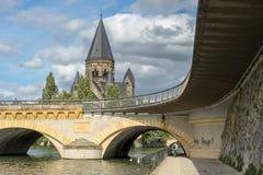 METZ, FRANCE/ EUROPE - SEPTEMBER 24: View of Temple Neuf in Metz Royalty Free Stock Photo