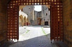 Metz, France - july 25 2016 : picturesque porte des Allemands Stock Image