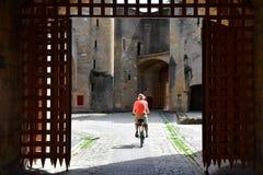 Metz, France - july 25 2016 : picturesque porte des Allemands Royalty Free Stock Photos